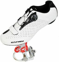 Venzo Cycling Bicycle Cycle Road Bike Shoes Men - Compatible