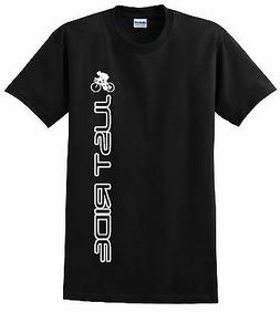 CYCLING T SHIRT JUST RIDE ROAD BIKE TREK SPECIALIZED CANNOND