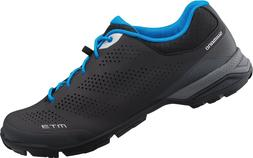 Shimano SH-MT301 Men's Bicycle Shoes Black Recreational On a